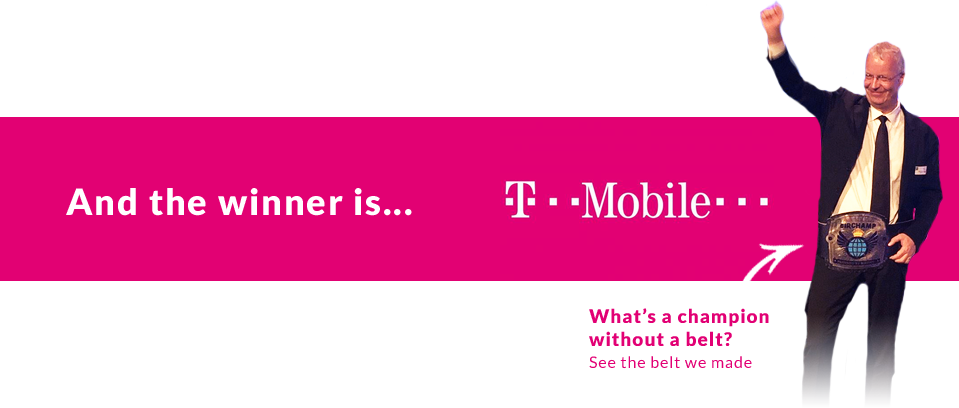 And the winner is... T-mobile